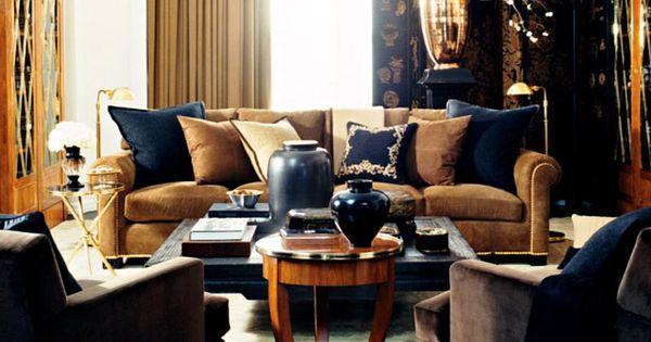 Ralph Lauren Home RueRoyale Collection 18 Living room  : f8141e99507ad8492a77f6ba69223190 from www.pinterest.com size 600 x 315 jpeg 39kB