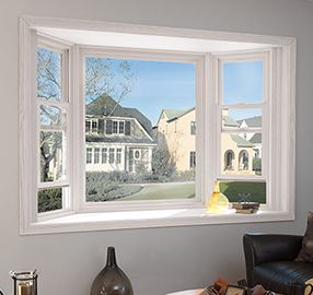 Bay And Bow Windows From Pella Expand Your View Even With Limited Wall Space Find Out More About Bay And Bow Win Bow Window Bow Window Living Room Bay Window
