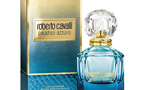 Paradiso Azzurro By Roberto Cavalli Fragranceofthemonth Http Www Naina Co 2016 08 Paradiso Azzurro By Roberto Cavalli Fragr Perfume Bottles Perfume Crystals