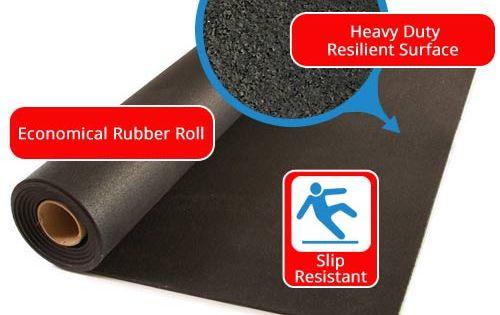 Rubber Flooring Rolls 8 Mm Black Rolled Rubber Flooring Commercial Rubber Flooring Rubber Flooring