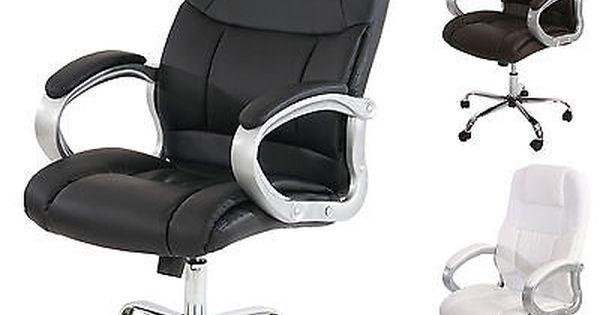 Profi Burostuhl Boston Xxl Chefsessel Us Version 150kg Belastbar Kunstleder Ebay Office Chair Home Decor Decor