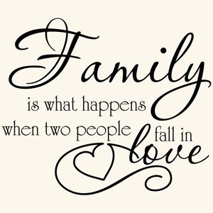 Family Quotes Wall Decals | Family quotes, Wall quotes, Words