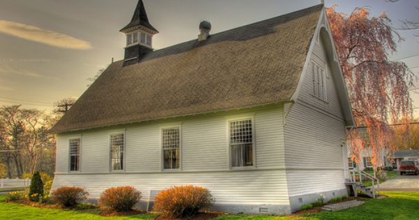 Pine Orchard Chapel At Sunset With Images Country Church