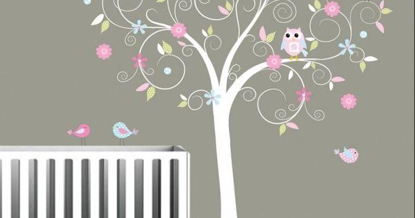 Décoration chambre bébé - 31 idées originales thème hibou  In ...