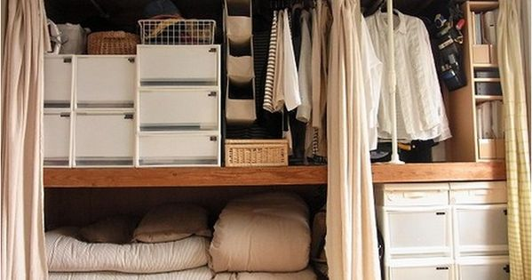 Image Result For Japanese Closet Organization インテリア 収納 押入れ 収納 おしゃれ クローゼット 収納