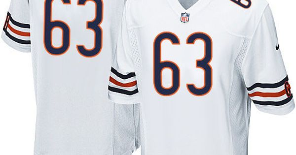dc2d3b04e41 ... Nike Chicago Bears Roberto Garza Limited Jersey Youth White 63 NFL  Jerseys Sale NFL Pinterest .