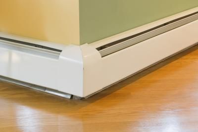 How To Paint A Rusty Baseboard Heater Baseboard Face