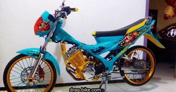 Motor Modif Satria Fu Thailook Gambar Sepeda Motor Air