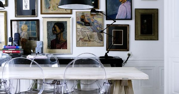 Dining room via line klein photography de eetkamer pinterest deco interieur en voor het - Deco eigentijds design huis ...