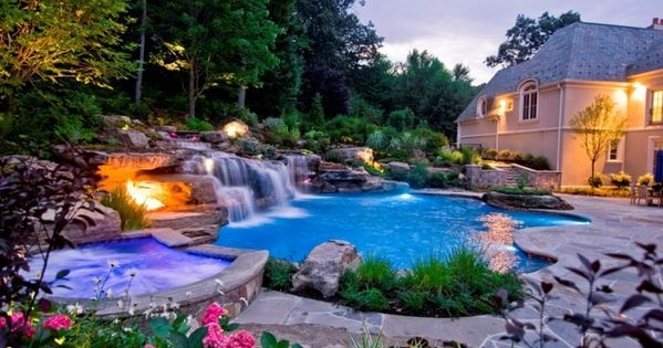 luxus pool hier ist noch ein luxus pool im garten luxuri se designs von pool pinterest garten. Black Bedroom Furniture Sets. Home Design Ideas