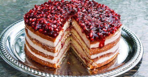 Mousse cake, Pomegranates and Mousse on Pinterest