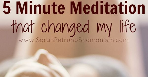 the 5 minute meditation that changed my life. Black Bedroom Furniture Sets. Home Design Ideas