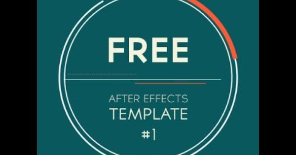 Free After Effects Template 2d Logo Introduction Transition By Motionanddesign Net Hope You Li After Effects Templates After Effects Free Logo Templates
