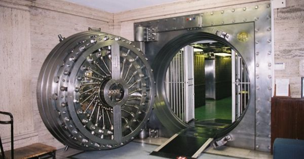 Lutyens Safety Deposit Vault Midlands Bank Headquarters