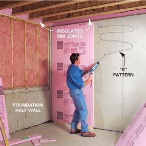 How To Finish Frame And Insulate A Basement Framing Basement Walls Basement Insulation Basement Renovations