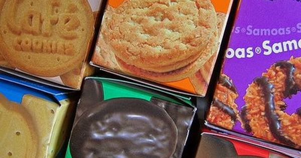A recipe for all of the Girl Scout cookies!!!!! Thin Mints, Samoas,