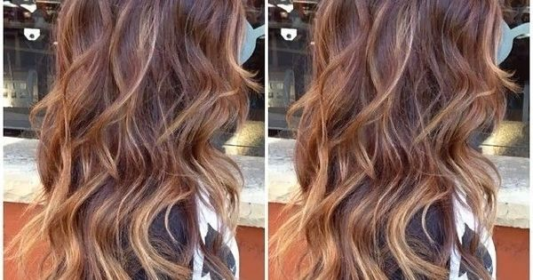 Long Wavy Hair Style for Thick Hair - Hair Color Trends