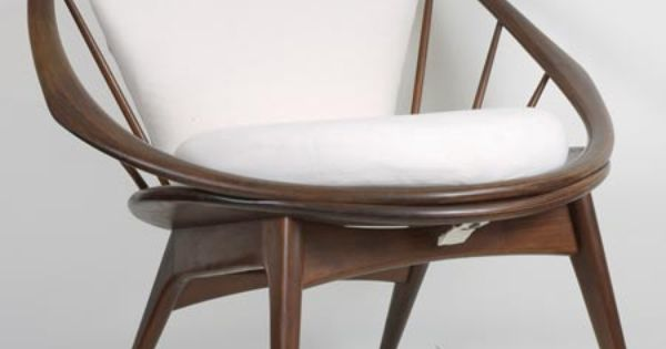 Danish Selig Round Chair