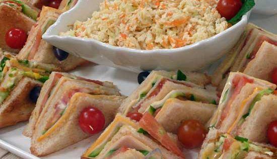 كلوب ساندويتش مثلثات الجبن و التركي Food Recipes Special Recipes