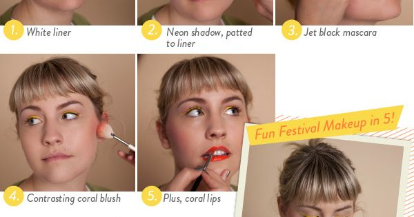 Create a look with bright eyeliner in 5 steps! beauty
