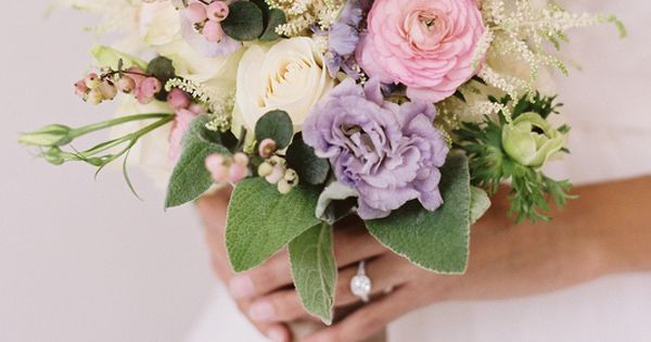 Rustic bouquet - i normally hate purple, but with this, love it.