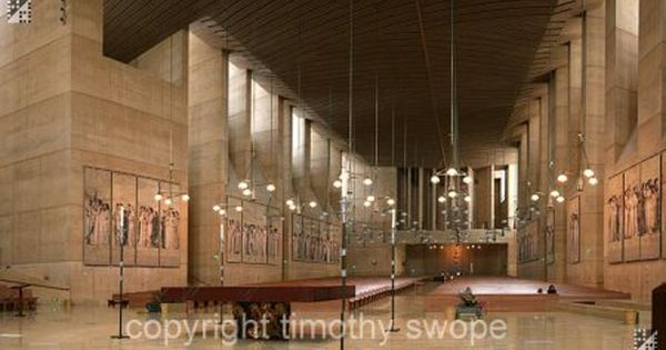 Moneo S Our Lady Of The Angels Cathedral Los Angeles Architect
