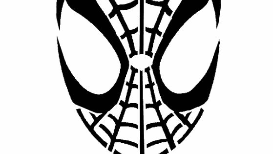 spiderman stencil image graphic picture photo free recipes to