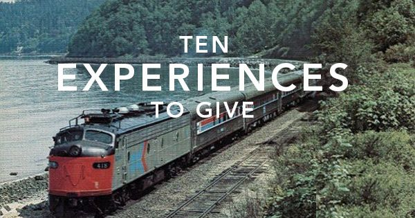 10 Experiences to give (instead of gifts). Experiences are way better gifts
