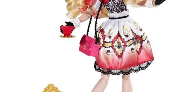 Ever After High Toy Box : Ever after high hat tastic apple white doll toy box