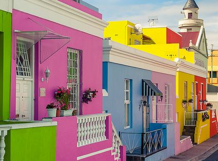 Bo kaap district Cape Town South Africa