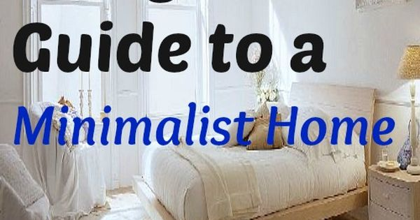 12 easy steps to a minimalist home bare essentials for Minimalist house essentials