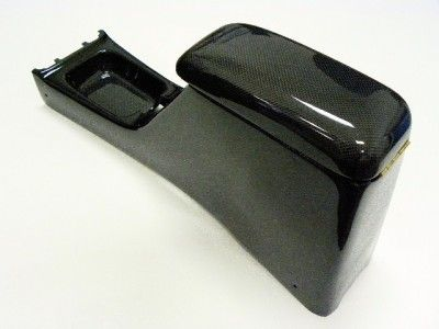 96 00 Honda Civic Carbon Fiber Center Arm Rest Console Honda Civic Civic Civic Eg