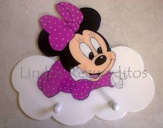 Disney Perchero Minnie Baby