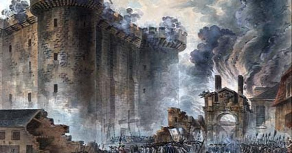 july 14 1789 ·paris mob stormed the bastille