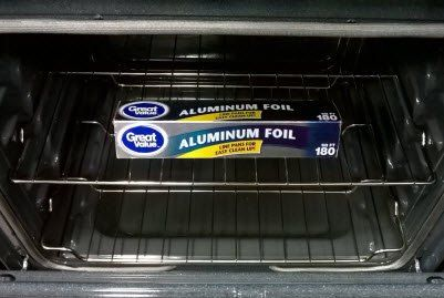 f85a3fe4edd9d345ba496244c4c196ed - How To Get Melted Tin Foil Off Bottom Of Oven
