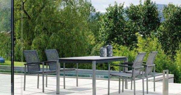 Stern Gartenmobel Set Lazy Strings Tisch Granit Dunkelgrau Gartenmobel Gartenmobel Sets Und Aussenmobel