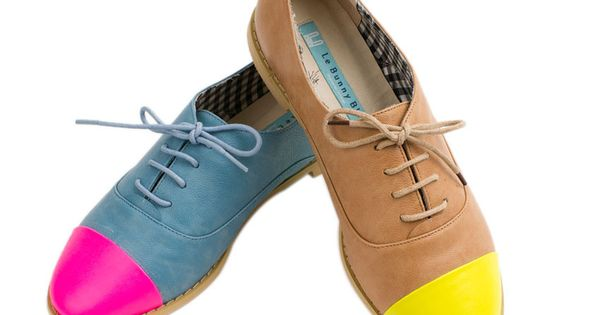 easy diy idea for revamping your flat shoes -- Brities Oxfords -
