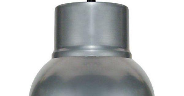 Cloche Suspension Electrifiee Couleur Aluminium Suspension Metal Luminaire Lustres