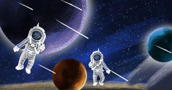 رائد فضاء الكون كوكب الفضاء السماء المليئة بالنجوم رسمت باليد كرتون صورة توضيحية على Pngtree غير محفوظة الحقوق Abstract Iphone Wallpaper Abstract Wallpaper Abstract