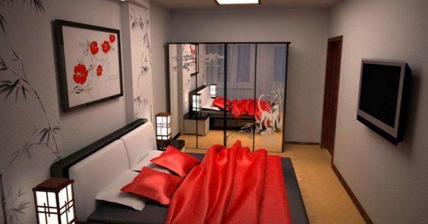 Dizain spalni dizain spalni v japonskom for Bed dizain image