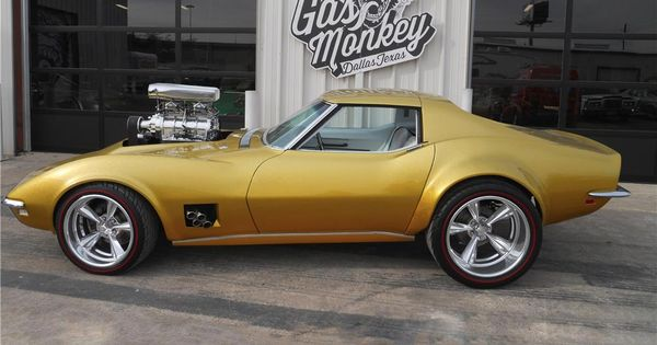 gas monkey garage 1968 hot wheels corvette the build was featured on the fast n 39 loud tv show. Black Bedroom Furniture Sets. Home Design Ideas