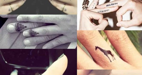 Finger Tattoos | The 13 Kinds Of Tattoos We All Wanted In