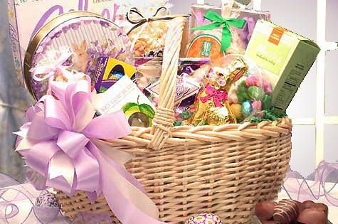 Deluxe Easter Gift Basket This Easter Basket Is Filled