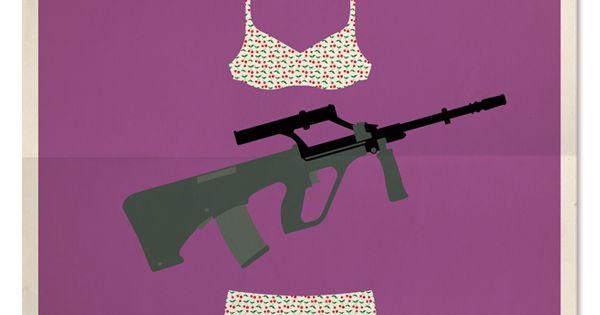 Affiches de films dans un style minimaliste style for Galerie art minimaliste