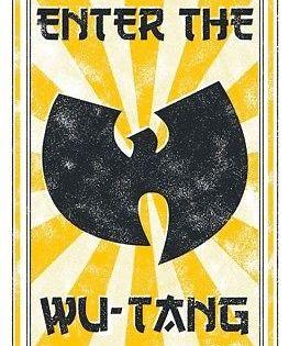Wu Tang Clan Enter Poster 22x34 Music 16656 Wu Tang Hip Hop Poster Wu Tang Clan Logo