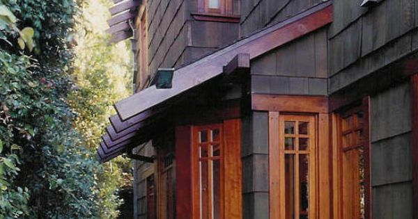 Cool Exterior Color And Texture Gorgeous Wood Window Trim