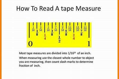 Resultado De Imagen De How To Read A Tape Measure How To Read A Tape Measure Tape Measure Tape Inches reading tape measure worksheet