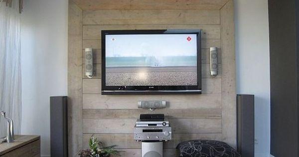 idee n voor het interieur waar ik van hou tv wand van. Black Bedroom Furniture Sets. Home Design Ideas