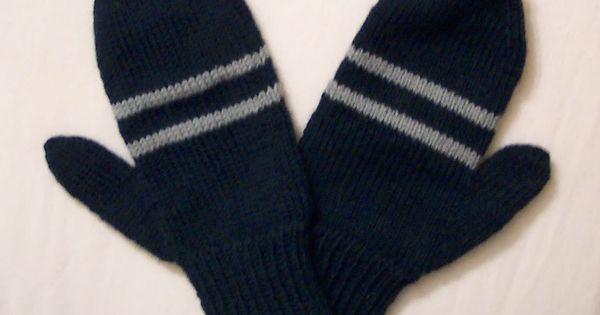 Knitting Mittens With Magic Loop : House mittens using magic loop method knitting