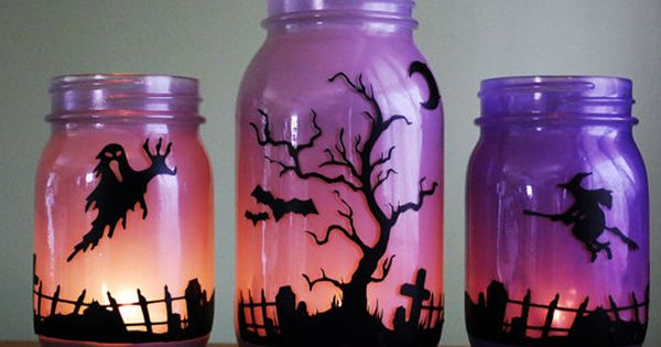 Wow....love these painted mason jars. I think these cost 3/$35.00. Very cool
